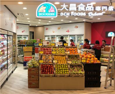 大昌食品门店案例